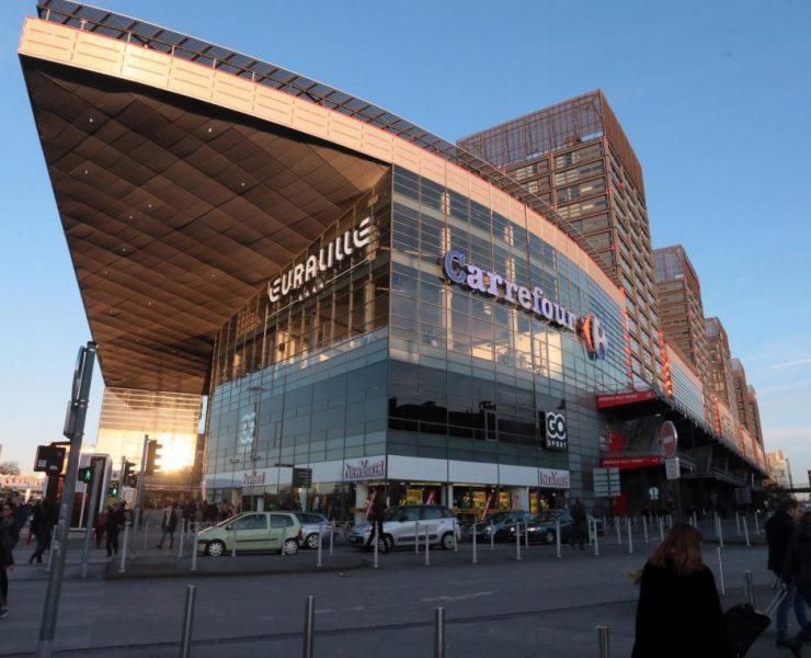 Centre commercial d'Euralille - LA VOIX DU NORD