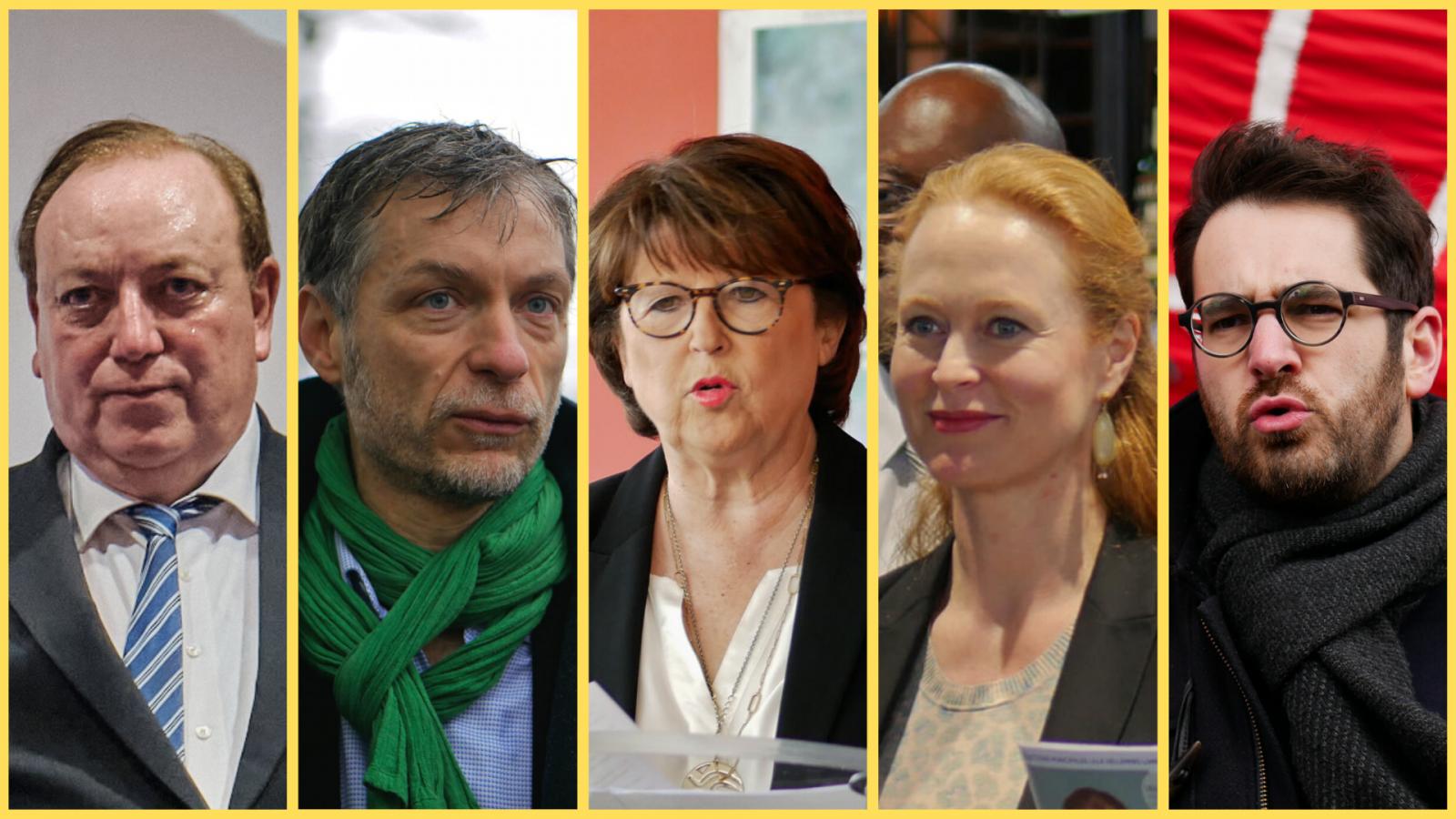 candidats débat municipales 2020 lille Spillebout poix Aubry Daubresse