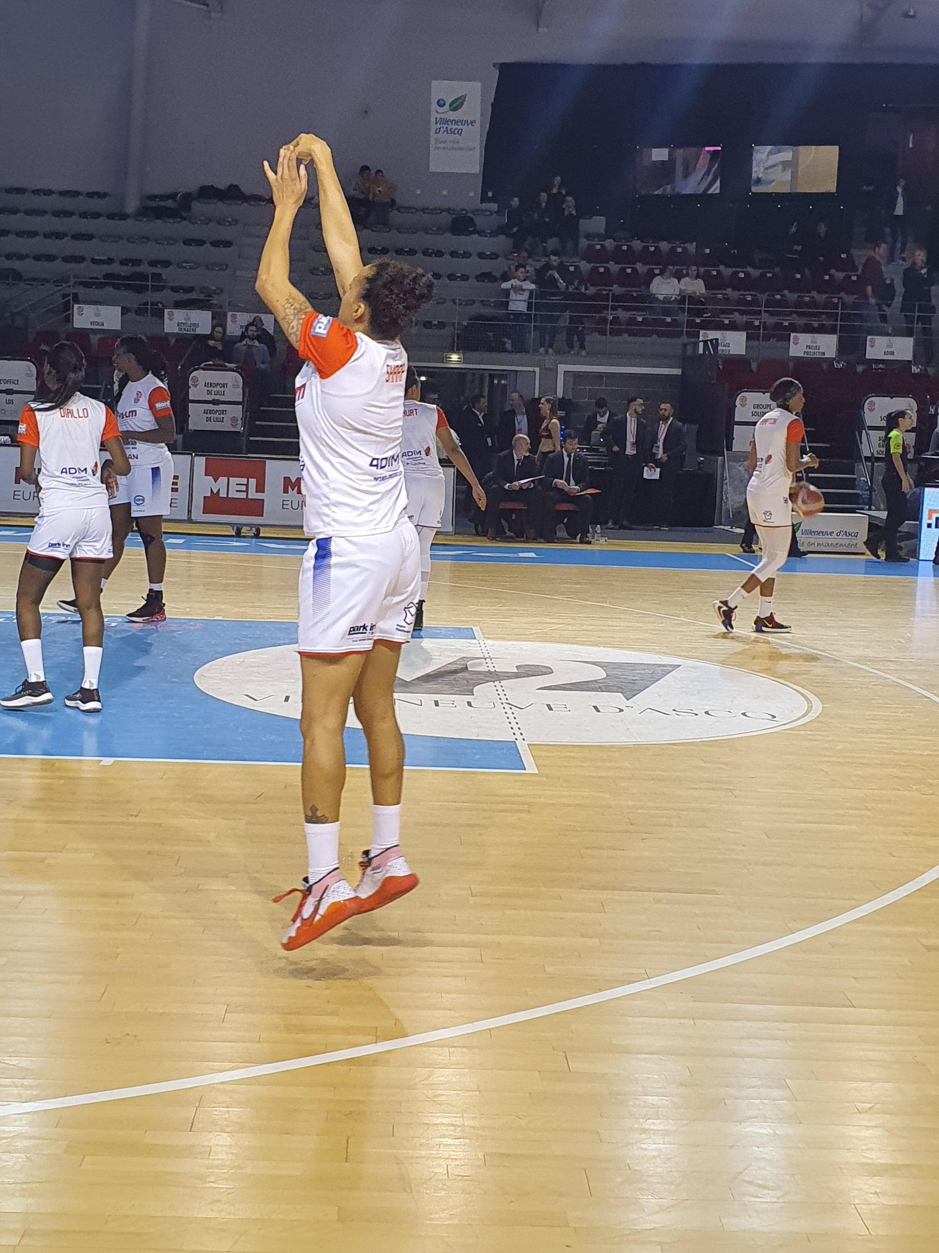basket féminin, ESBVA-LM