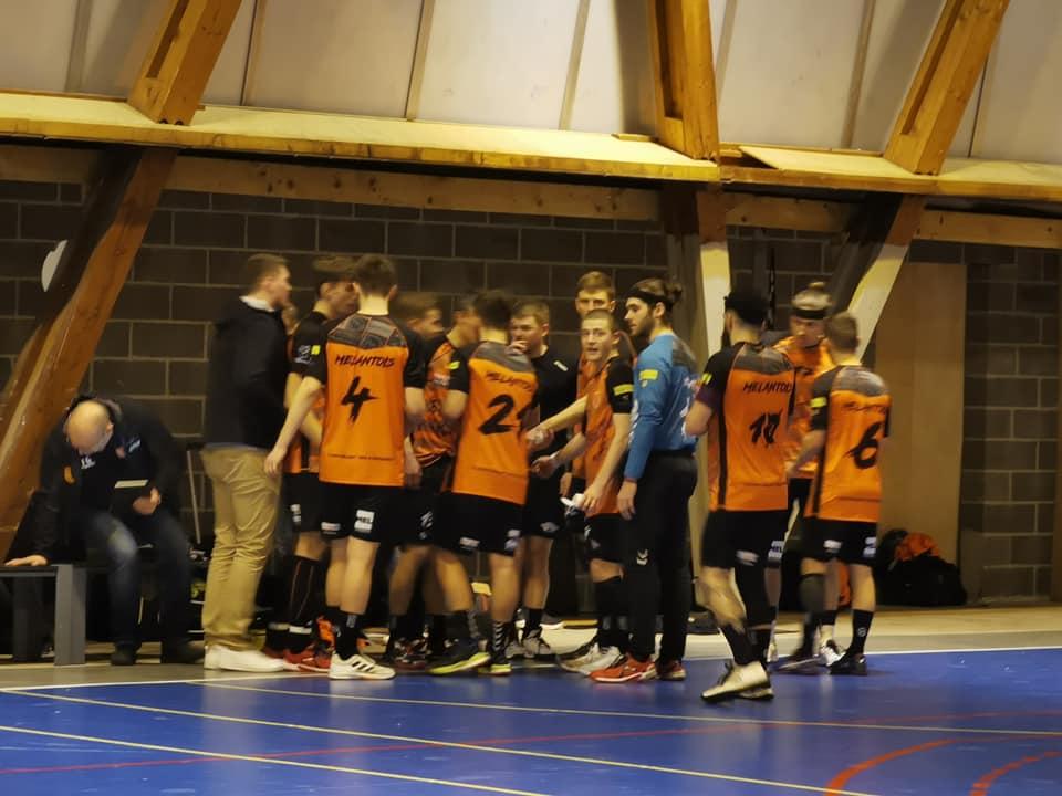 Handball, Mélantois , Temps mort