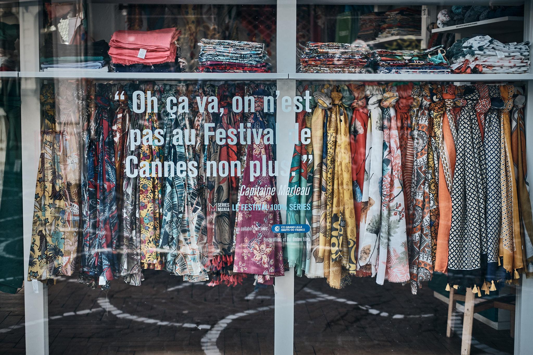 Lille Confinement Covid-19 Vêtements Commerce Festival de Cannes