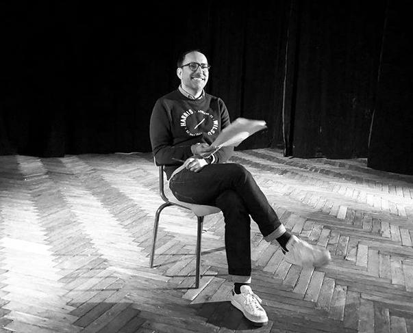 Louis Arthur voulait écrire pour être joué, il écrit en ce moment pour être lu. Crédit photo : Louis Arthur - Instagram