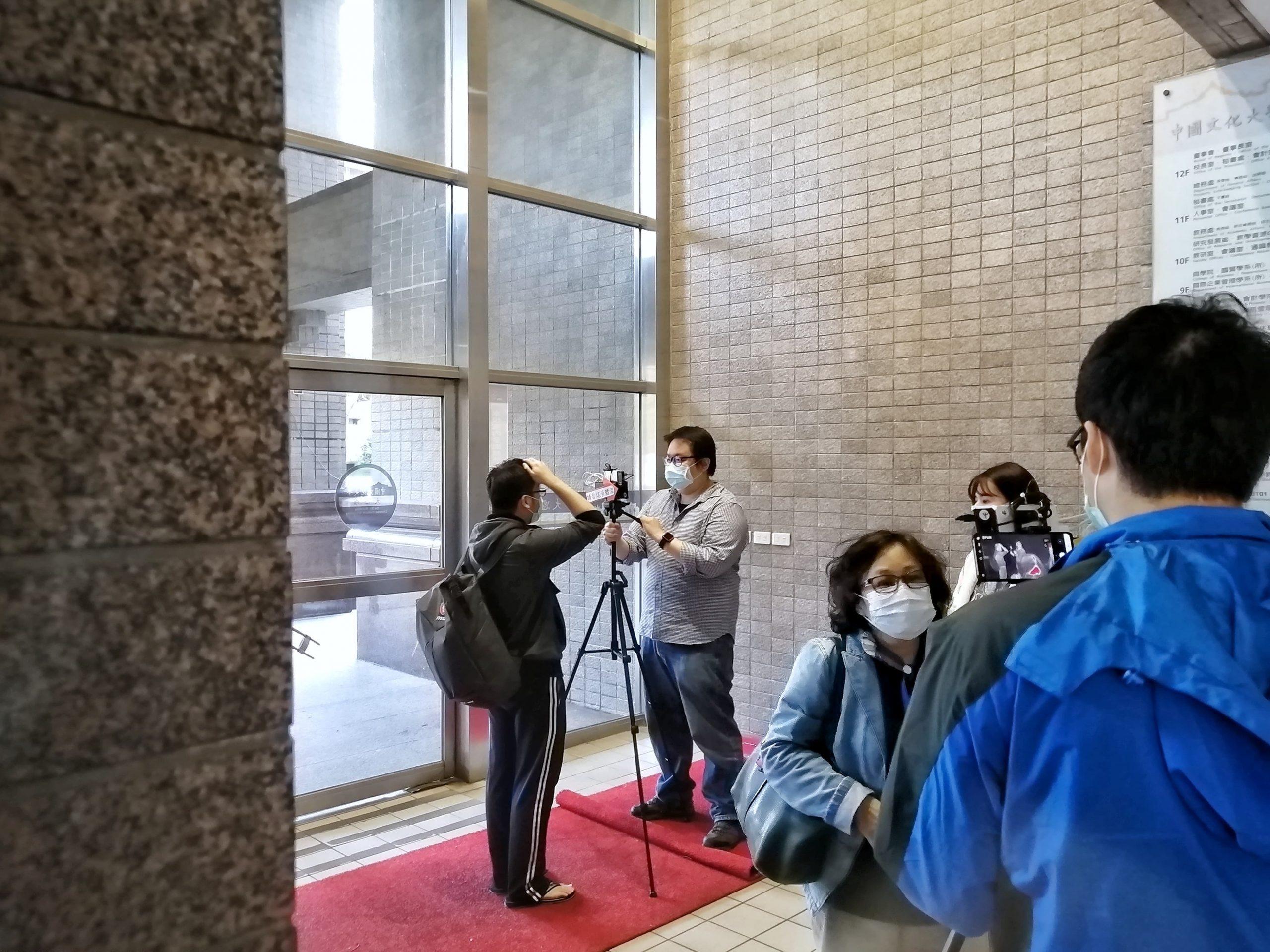 Des détecteurs de température infrarouges sont installés sur chaque campus. Crédits photo : Coline Grancher.