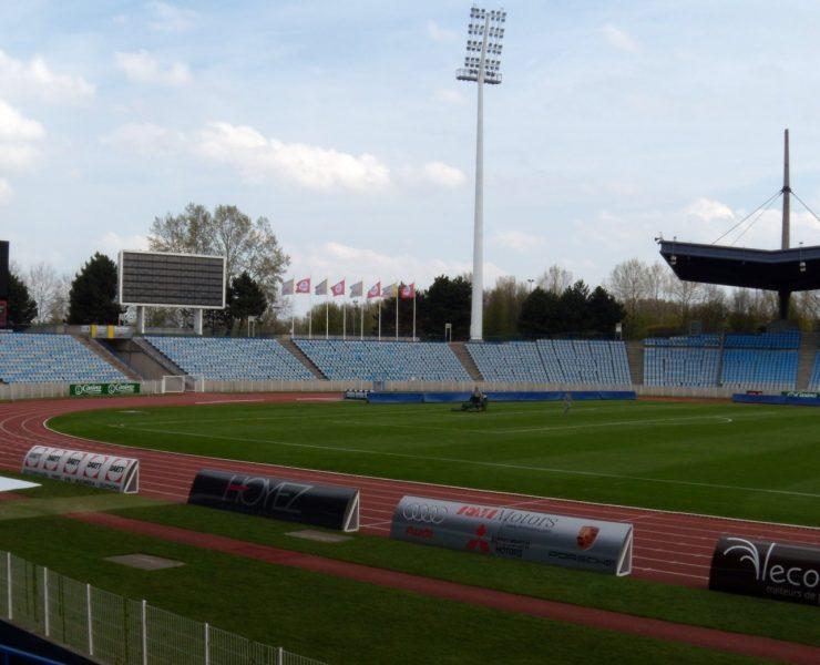 Stadium Villeneuve d'Ascq vide