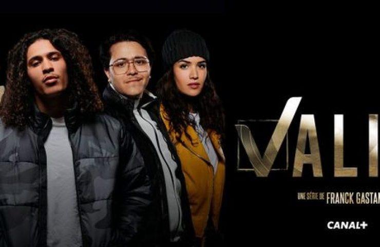 Affiche cinéma série canal+ validé