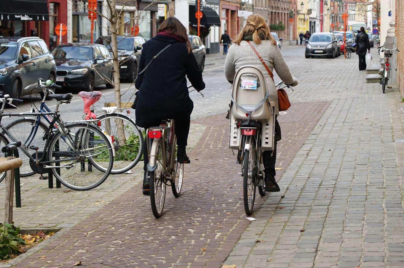 déplacement urbain en vélo pour les trajets quotidiens, challenge