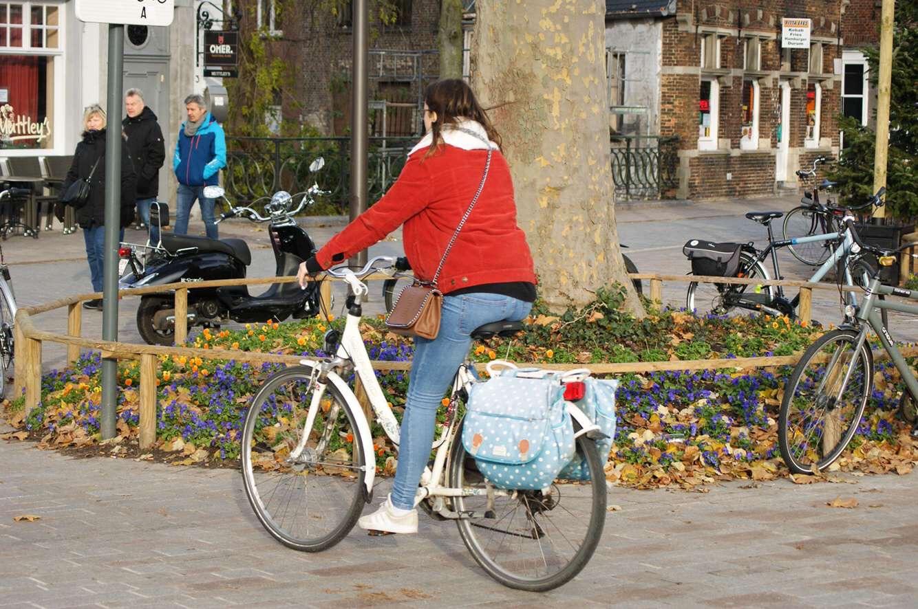 trajet en vélo, challenge
