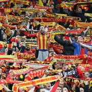Les supporters du Racing Club de Lens