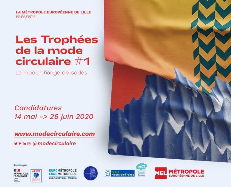 Affiche première édition des Trophées de la mode Circulaire