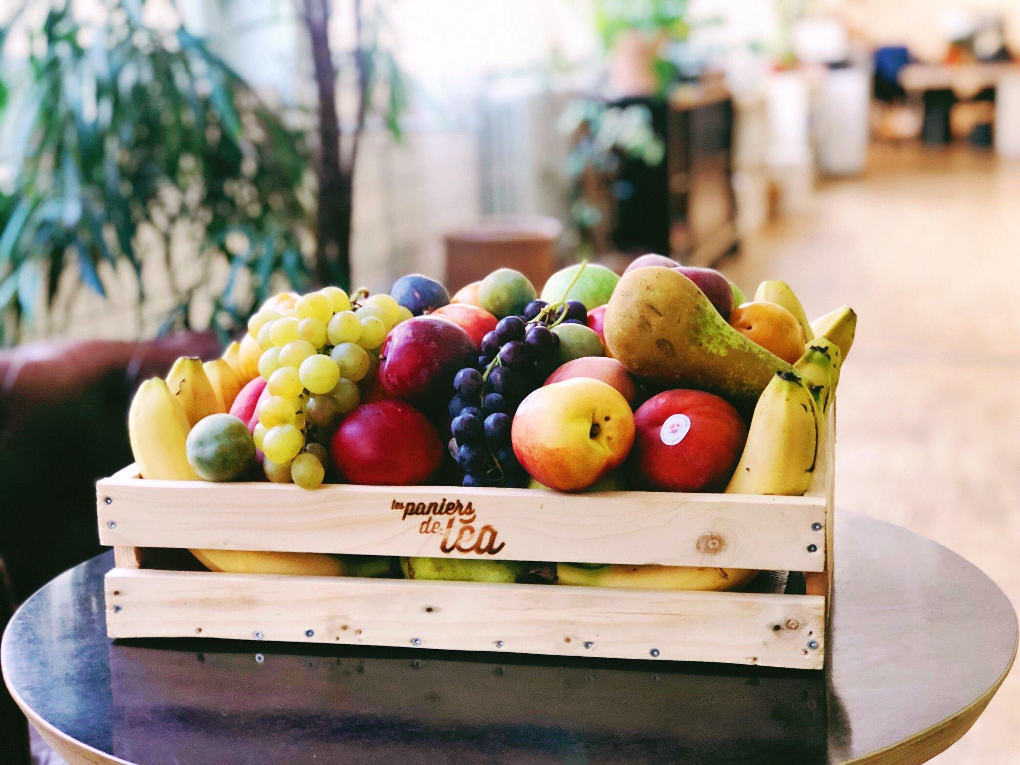 Panier fruits
