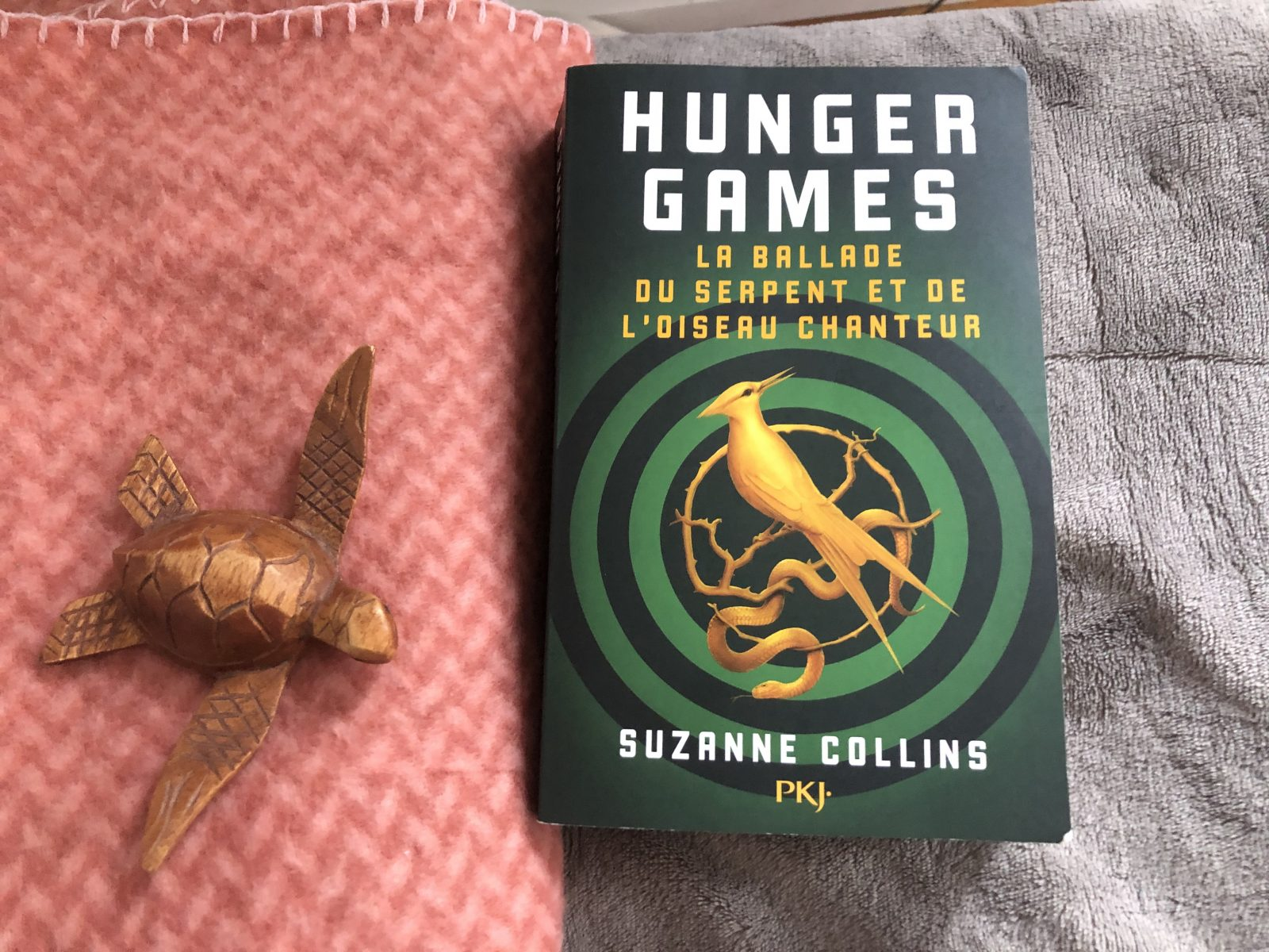 Couverture du livre Hunger Games de Suzanne Collins