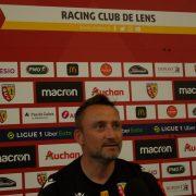 Franc Haise RC Lens, premier entraînement