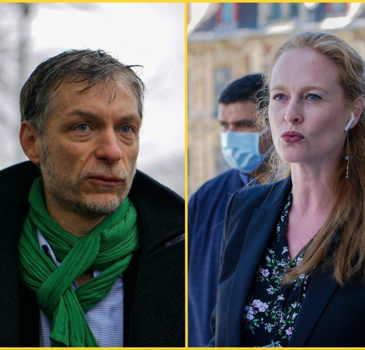 Stéphane Baly et Violette Spillebout Municipales Lille