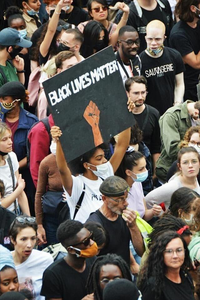 Manifestations contre les violences policières - paris - 13 juin