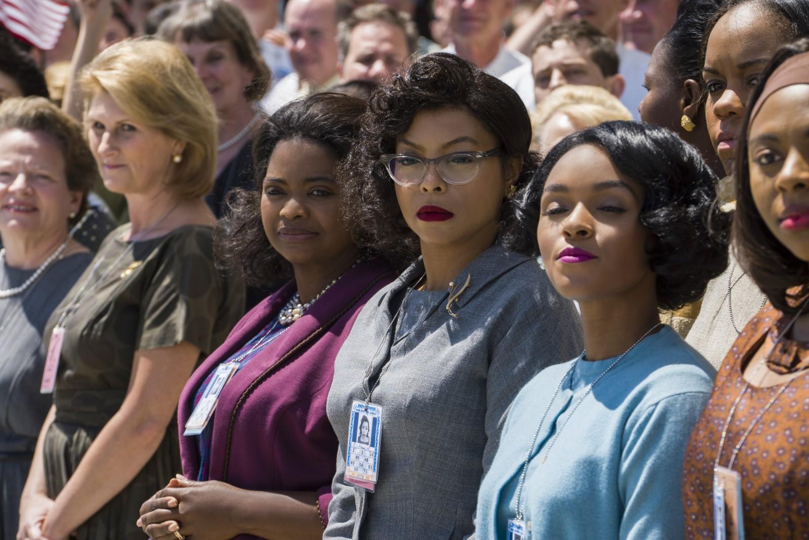 """Octavia Spencer, Taraji P.Henson et Janelle Monae cassent les stéréotypes du cinéma dans le film """"Les figures de l'ombre""""."""