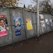 Panneaux des élections régionales 2015 à Tourcoing