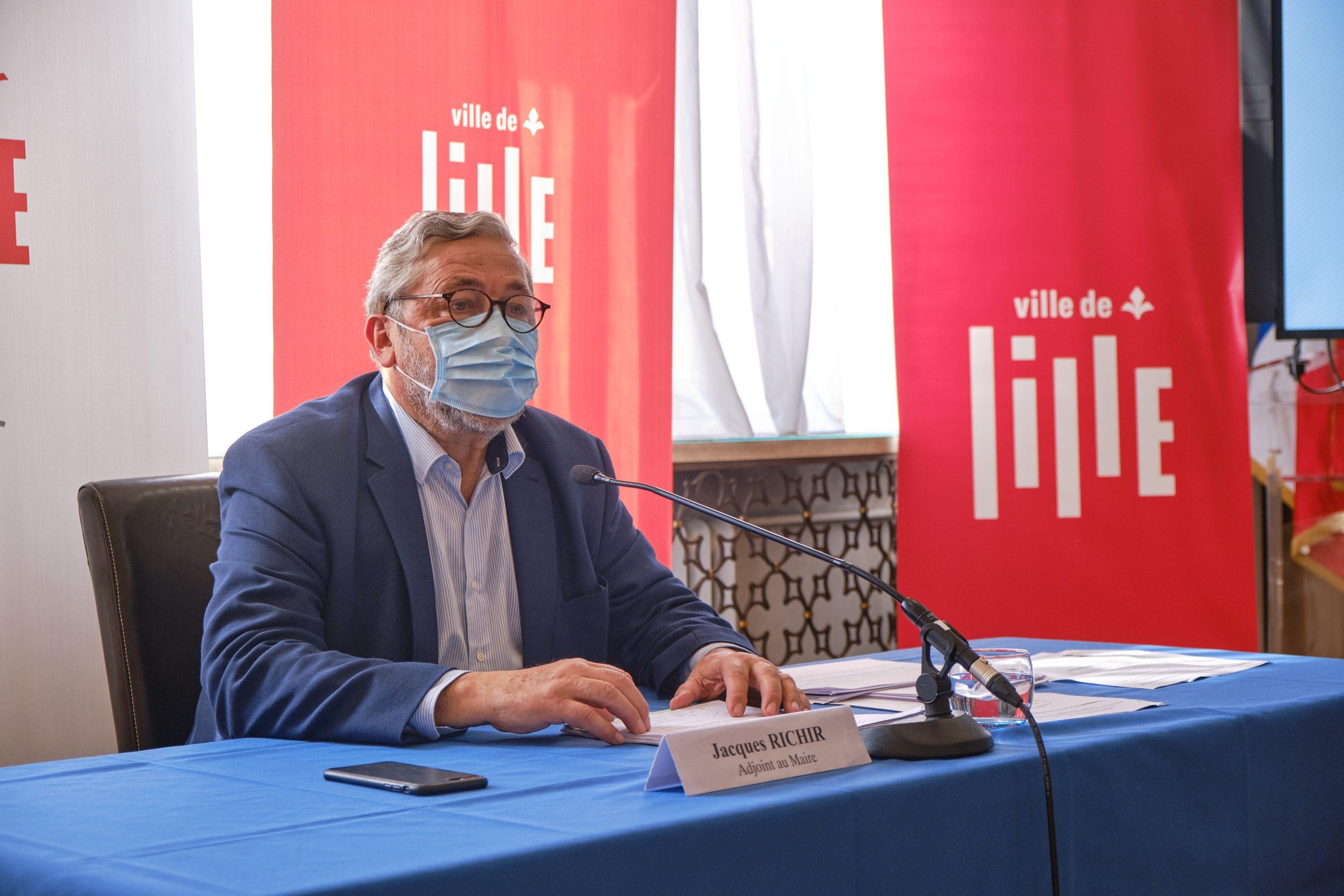 Selon Jacques Richir, les efforts menés par la mairie s'avèreront bénéfiques à la santé de lillois et à leur sécurité.