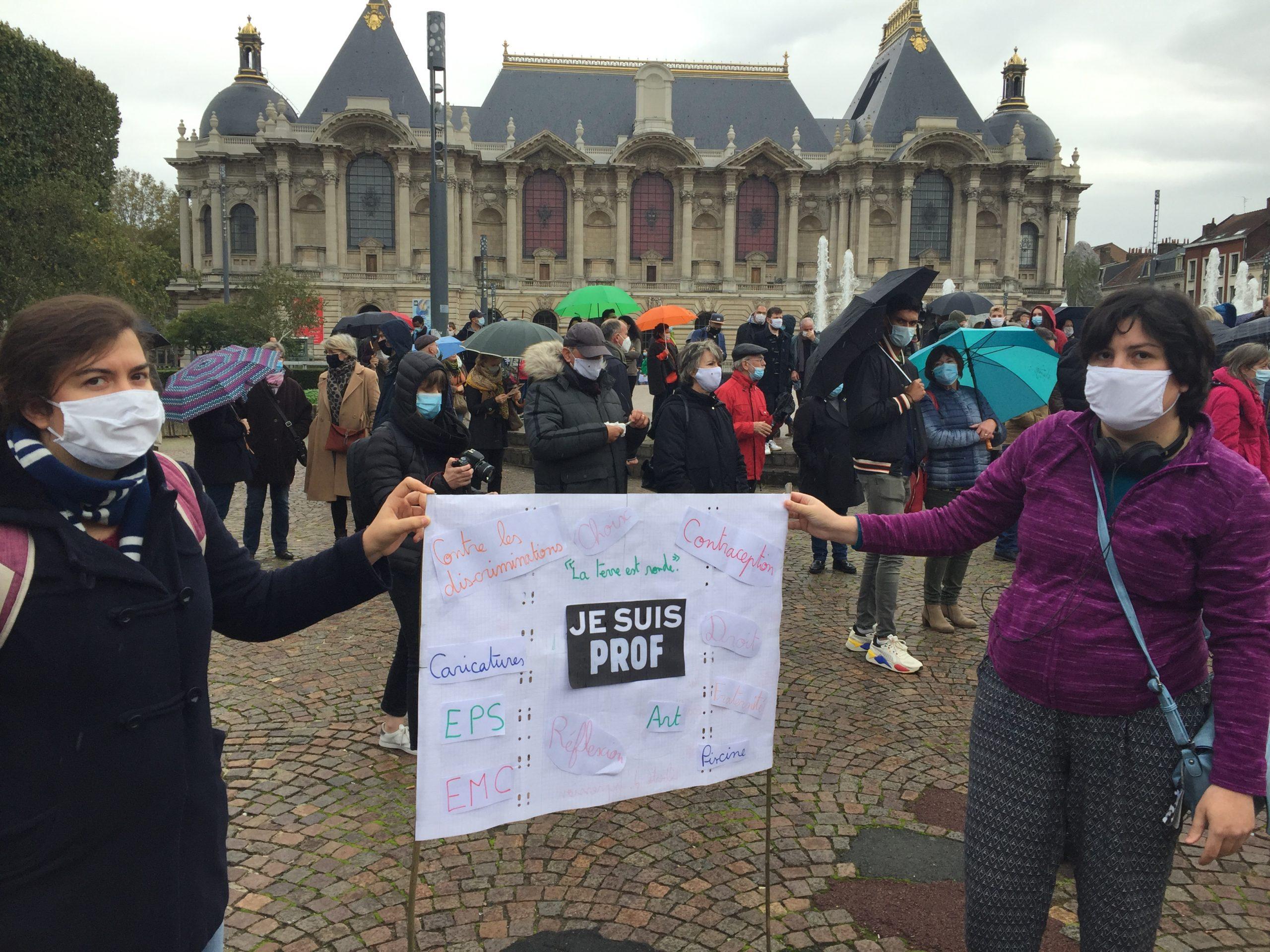 Lille se mobilise pour la liberté d'expression