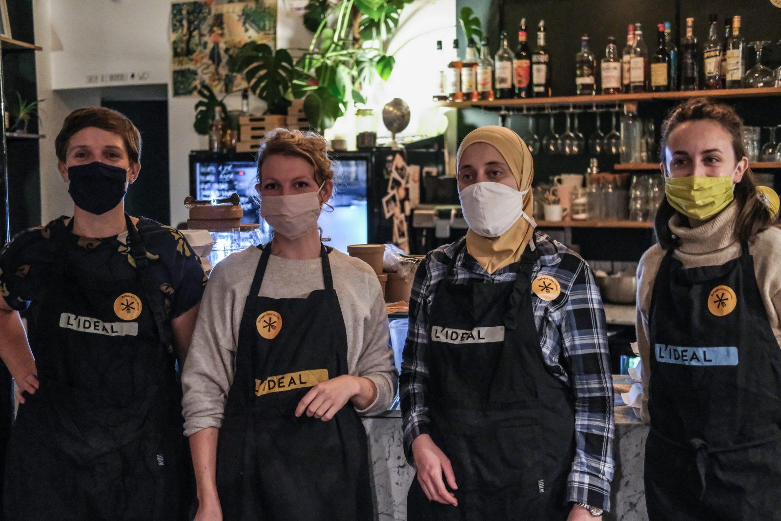 Refugee Food Festival à l'Idéal, épicerie café de Lille
