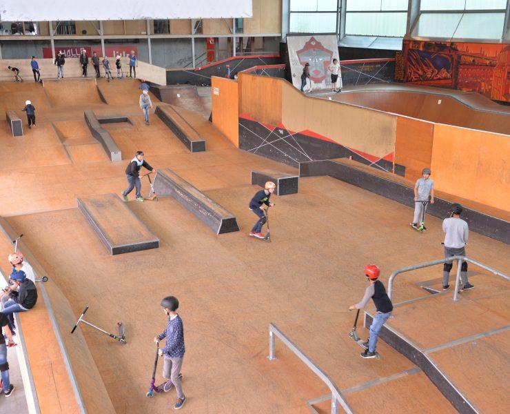 Halle de glisse, skatepark, Jeux Olympiques