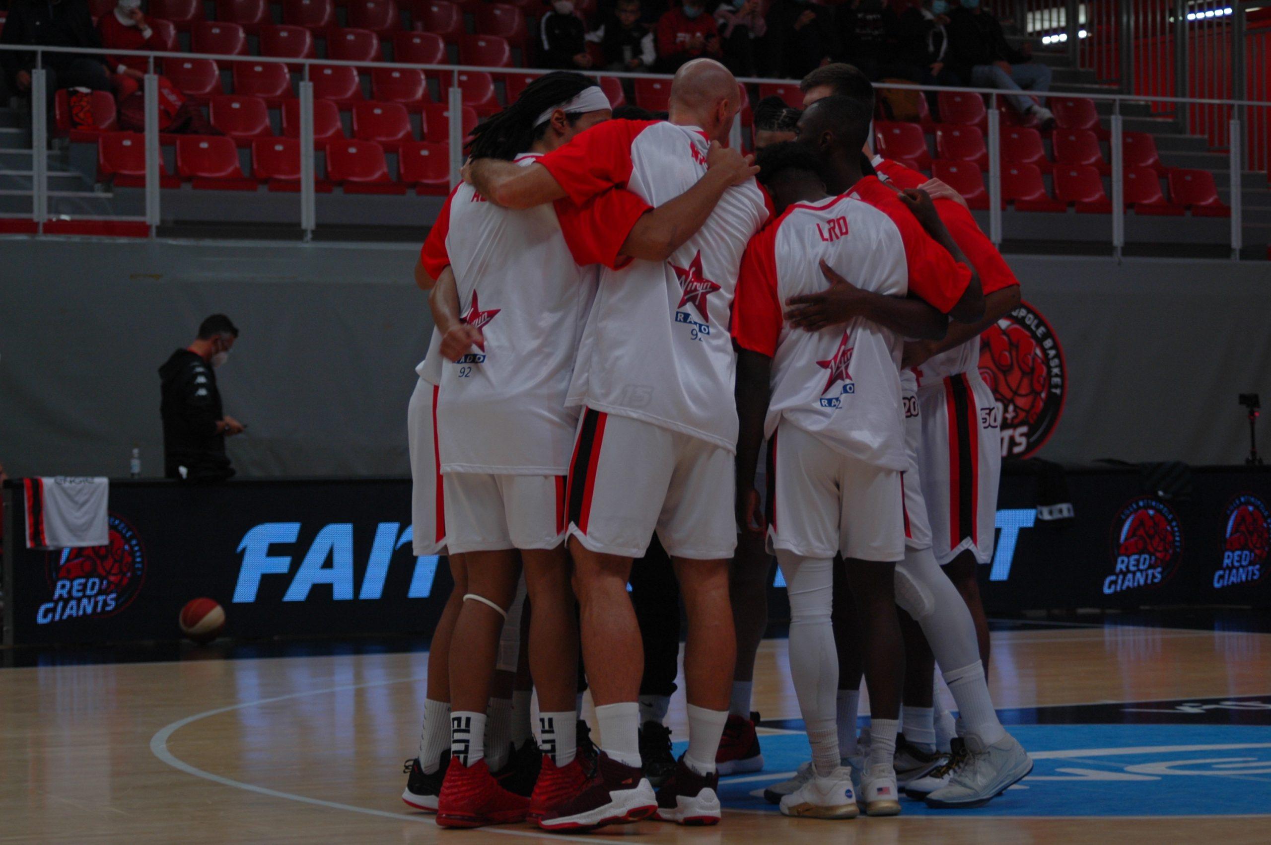 L'équipe de Lille avant le début de la rencontre. © Armand Bécasse / Pepère News