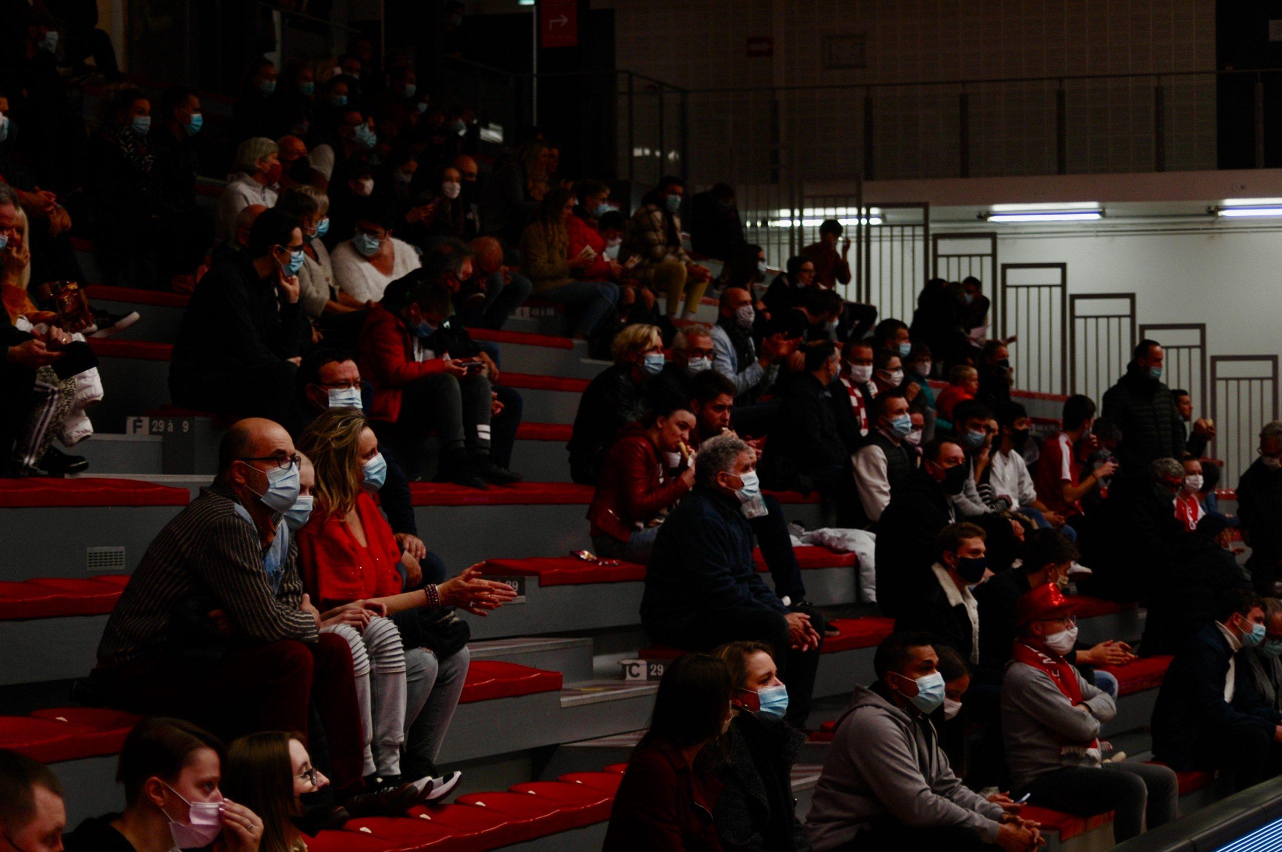 450 personnes sont venues apprécier ce choc de pro B. © Armand Bécasse / Pépère News