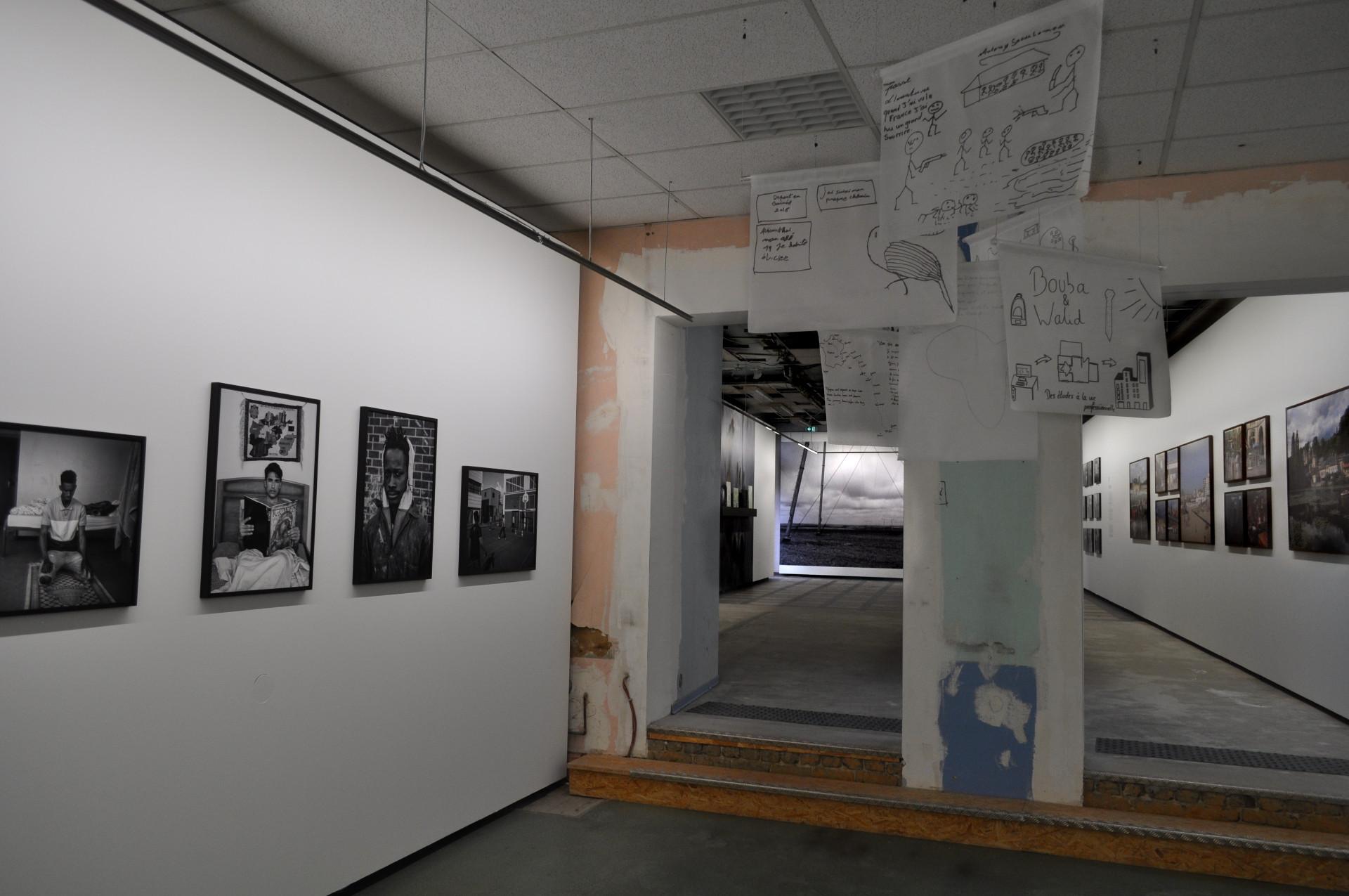 """Institut pour la photographie, exposition """"Réalités données""""."""