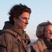 Timothée Chalamet et Rebecca Ferguson dans le film Dune