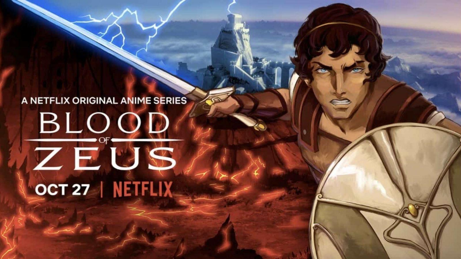 Affiche promotionnelle de Blood Of Zeus