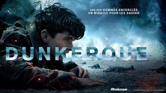 Affiche promotionnelle du film Dunkerque