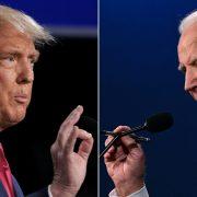 Donald Trup et Joe Biden ©ExpressVPN