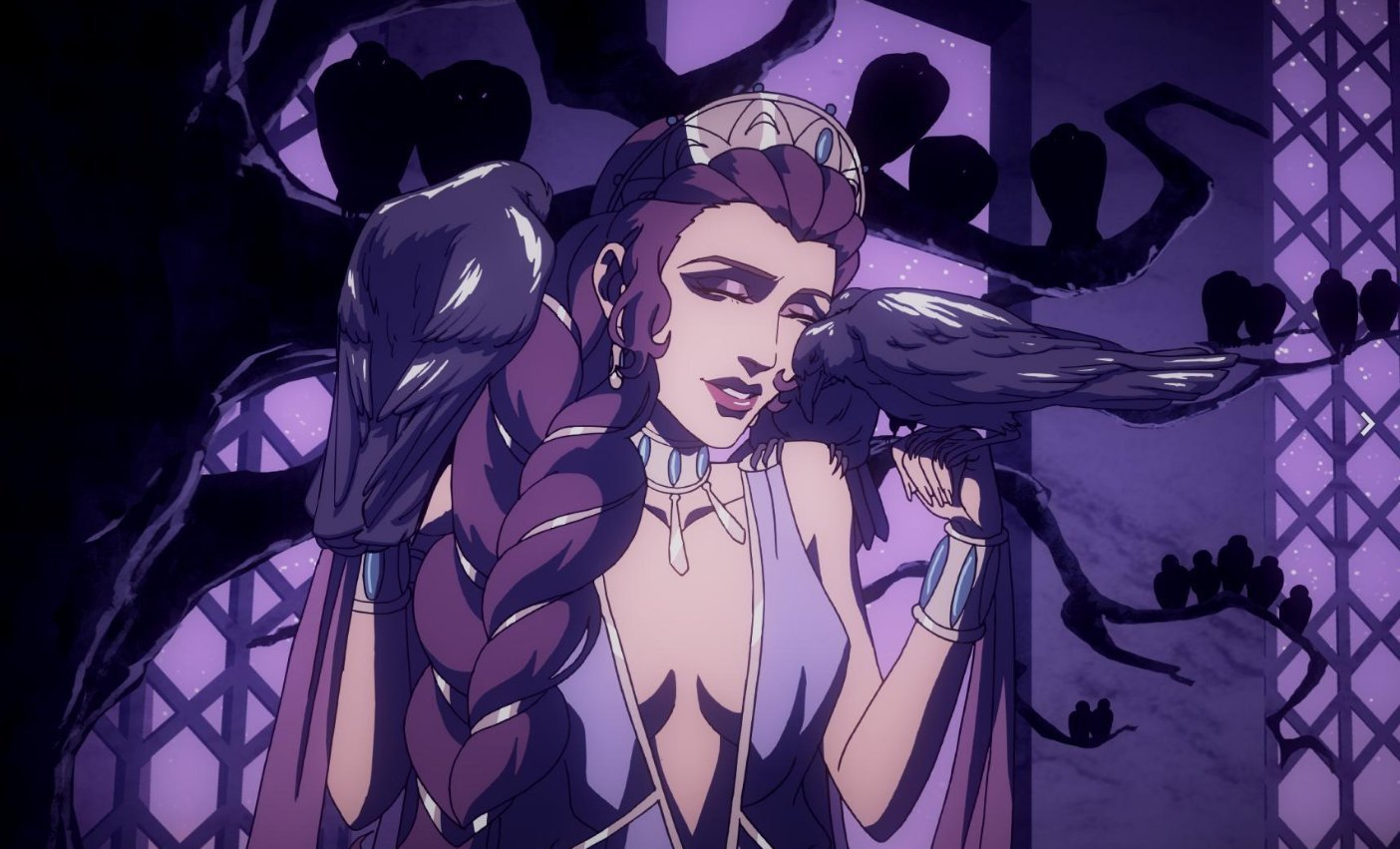 Déesse Héra dans l'animé mythologique Blood Of Zeus