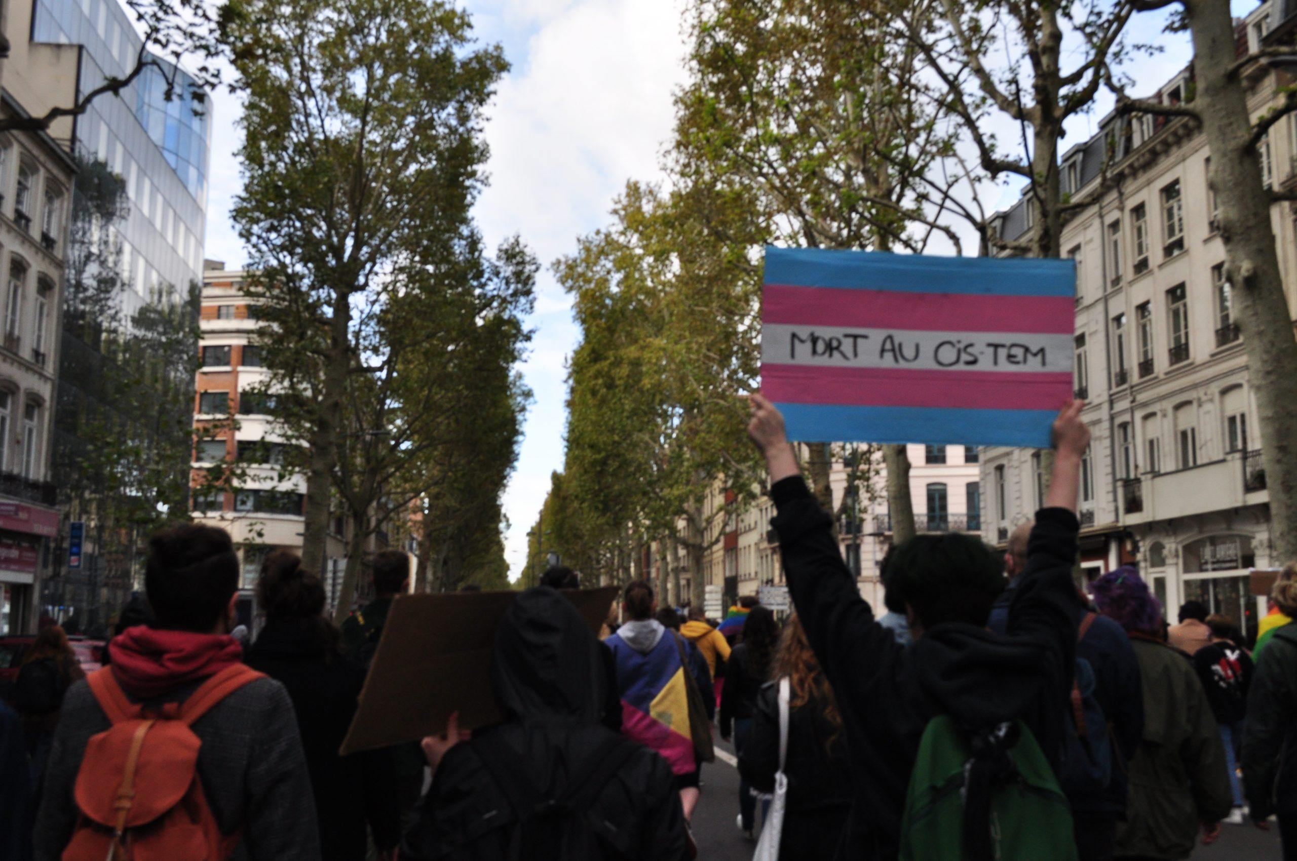 Contre manifestation manif pour tous Lille