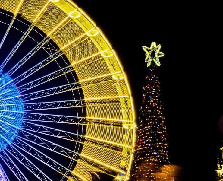 Grande Roue Lille à Noël