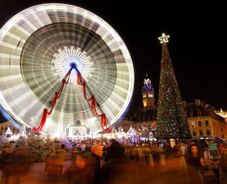 Noël, Grande Roue, Lille
