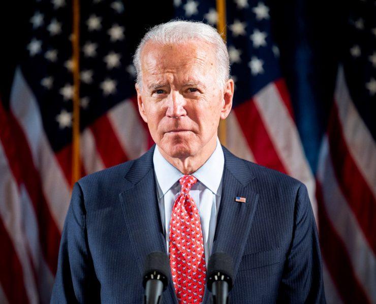 Joe Biden lors d'une conférence de presse à Wilmington, Del., Le 12 mars 2020.