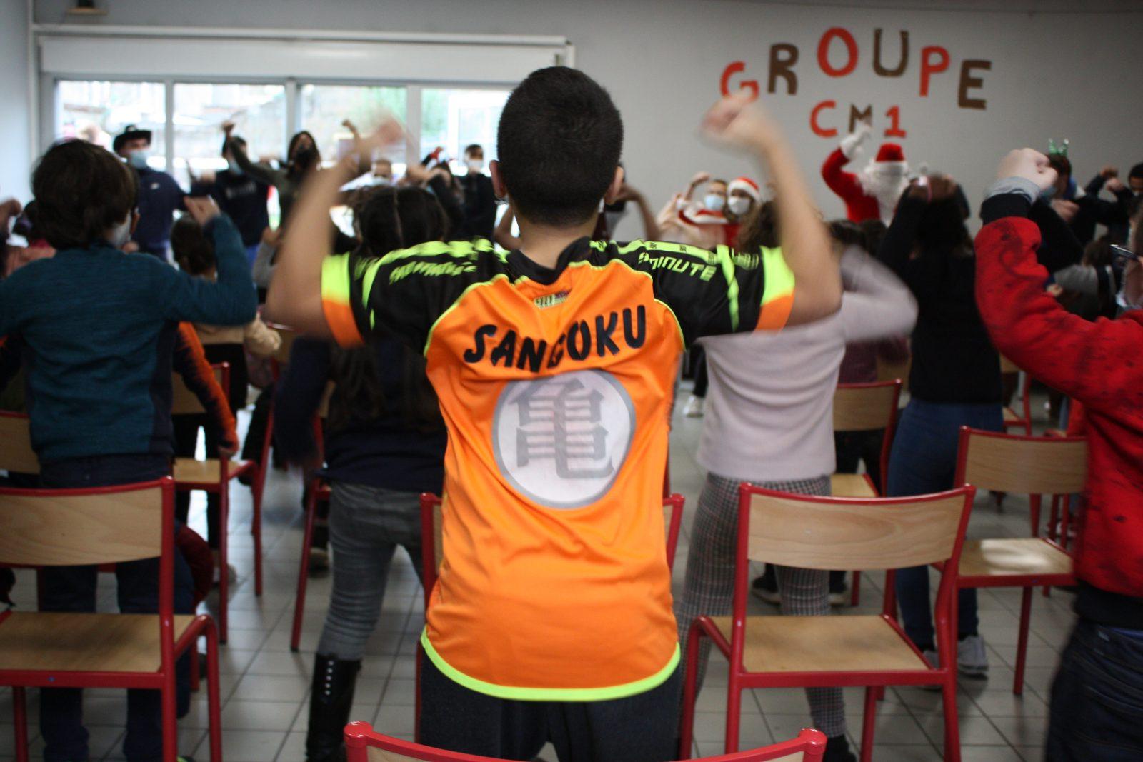 Les enfants du centre ©Alicia Gourlan / Pépère News