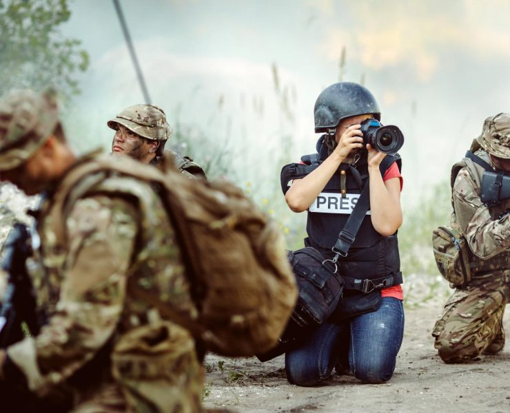Photojournaliste de guerre