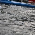 Les bateaux fendent l'eau, le calme règne. © Damian Cornette