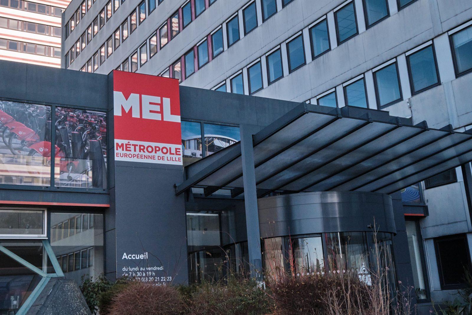 Siège Métropole européenne de Lille MEL