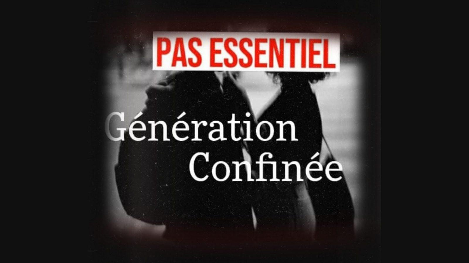Visuel collectif anonyme ALARM génération confinée