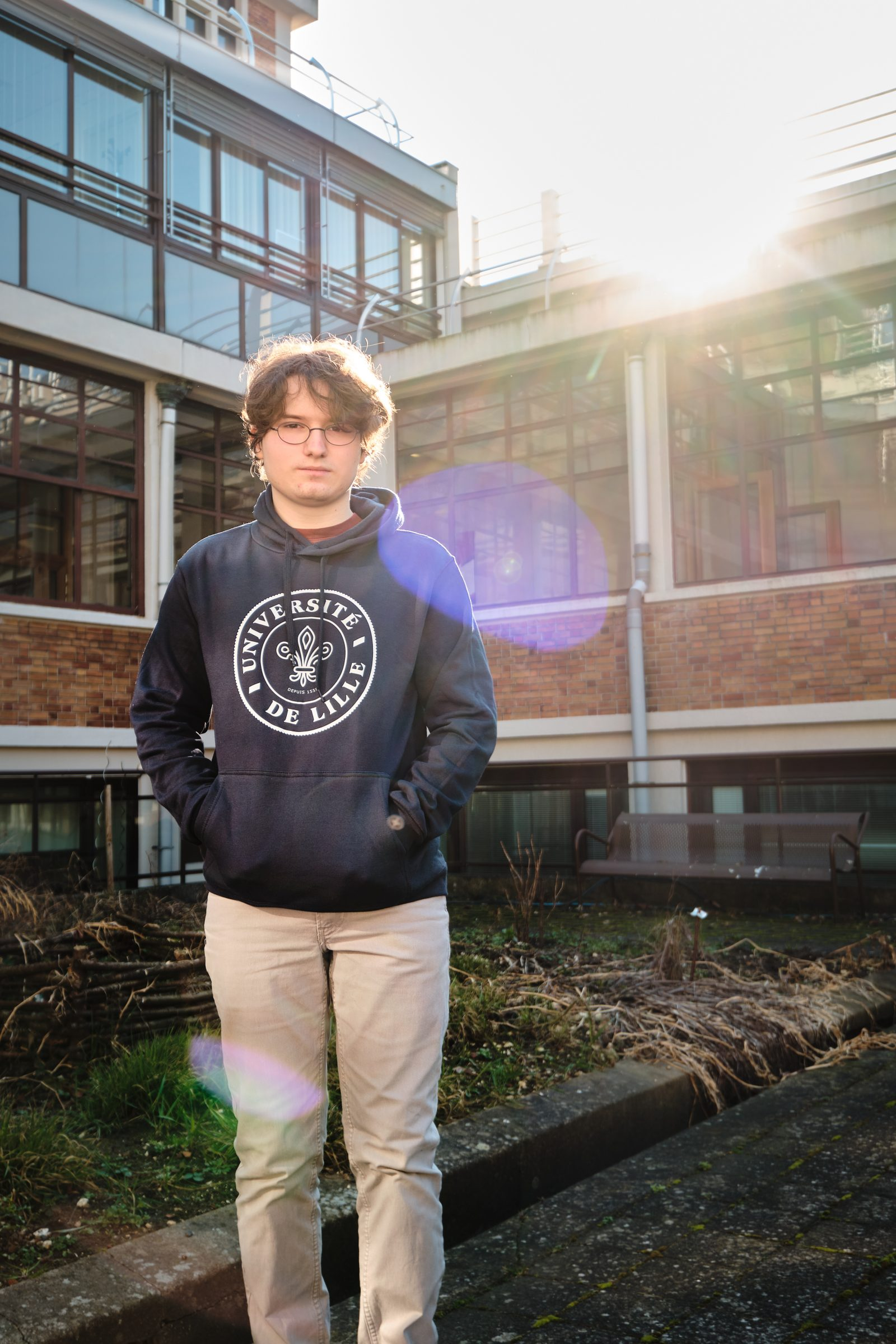 Benjamin Defromont, 17 ans, L3 philo