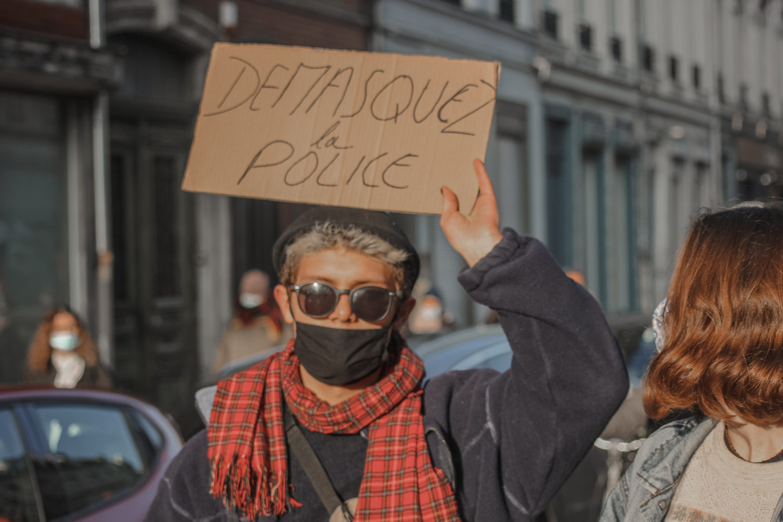 Manifestation contre la loi sécurité globale à Lille le 9 janvier 2021