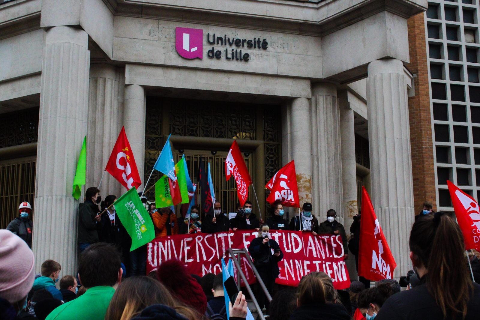 Université de Lille, précarité étudiante