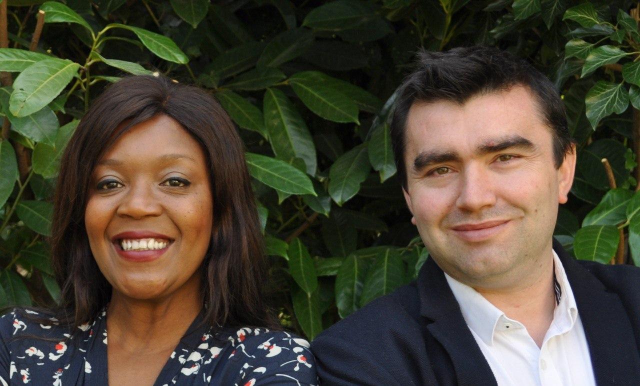 Dei Muteba et Quentin Adaire
