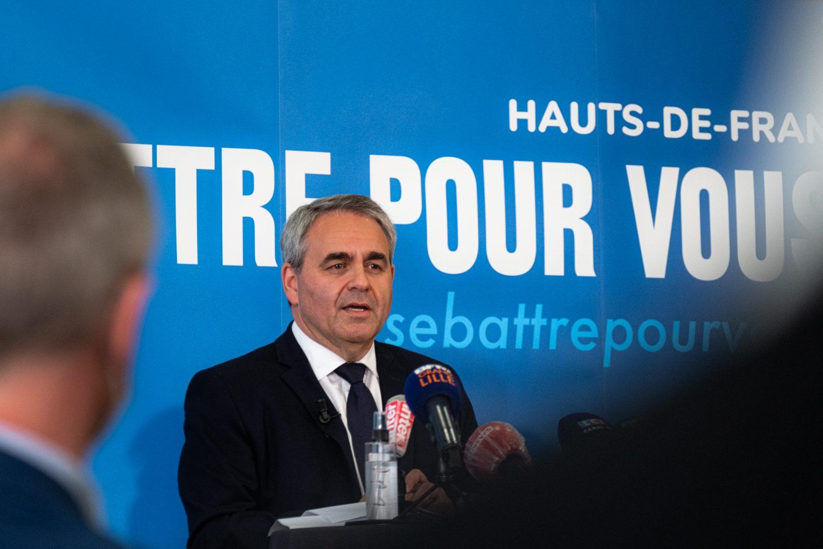 Xavier Bertrand Régionales