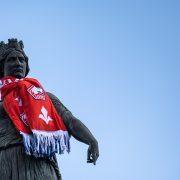 Statue losc derby du Nord