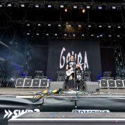 Gojira sur la scène du Rock am Ring, festival allemand