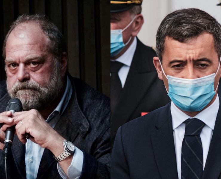 Eric Dupont-Moretti et Gérald Darmanin