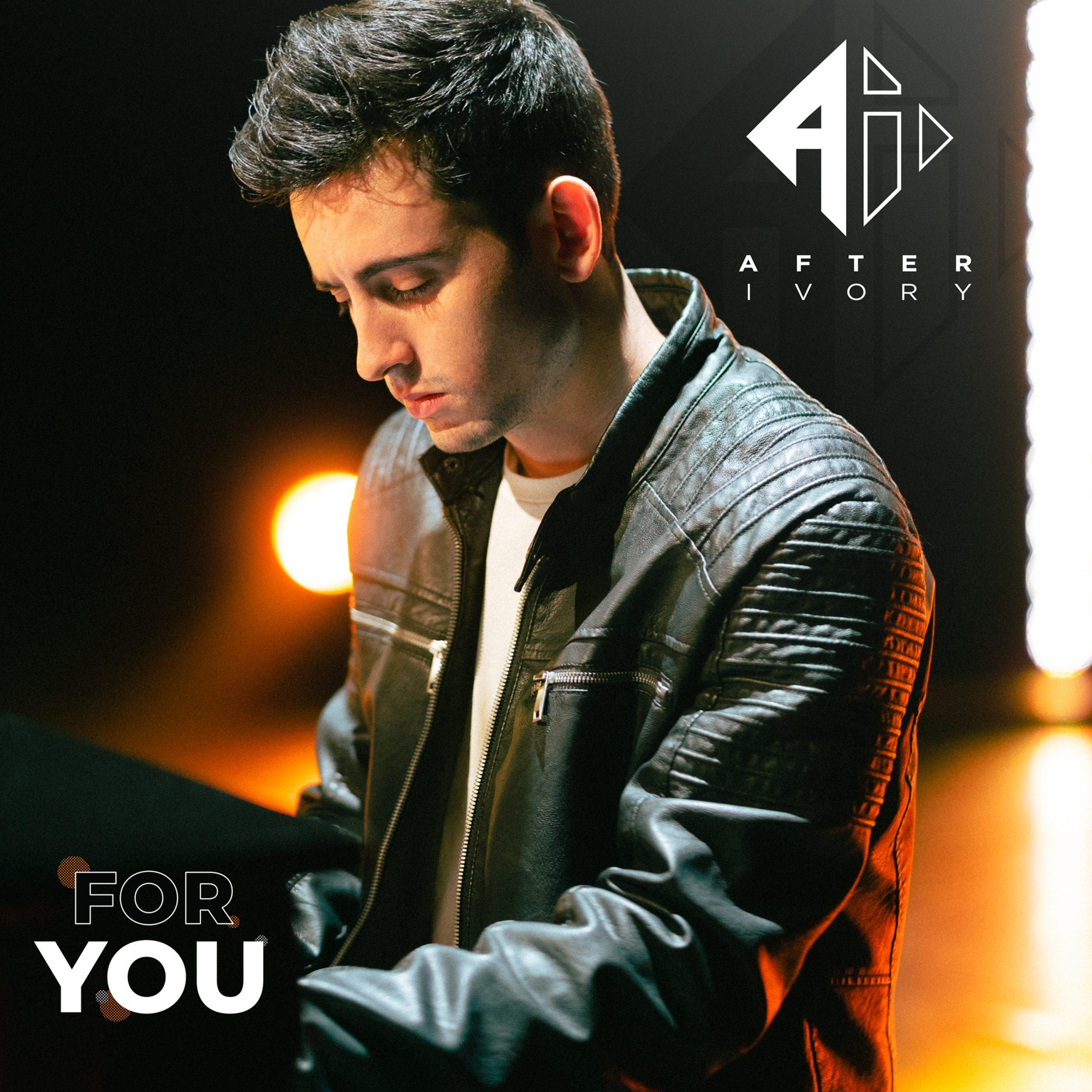 """La pochette du single """"For You"""" d'After Ivory © Thomas Danieau"""